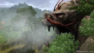 гробница Брюхо дракона в The Sims 3 World Adventures