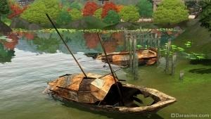 старые заброшенные лодки в Шанг-Симле