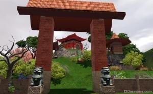 Китай: Земля предков, входная арка
