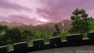 закат в Шанг-Симле