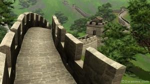 Великая Китайская стена в Симс 3 Мир приключений
