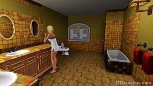 Базовый лагерь: ванная комната