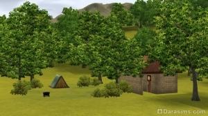 Палаточный лагерь Шам ле Сим