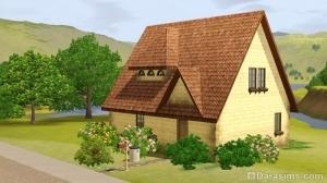 Дом на дачном участке Шам ле Сим