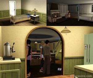 Нектарник: спальни и мини-кухня