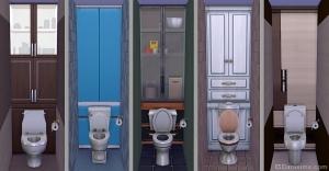 шкафчики для туалета