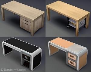 варианты комбинирования столов