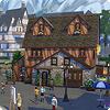 Три стороны города Винденбурга из The Sims 4 Веселимся вместе
