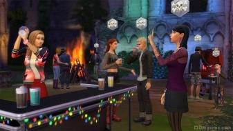 Дискотека на развалинах в The Sims 4 Веселимся вместе