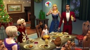 Отмечайте праздники в The Sims 4 с новыми предметами