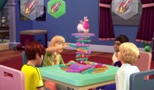 "Дети играют в ""Не будите ламу"" в The Sims 4 Веселимся вместе"