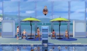Вышка для прыжков в бассейн, Симс 4
