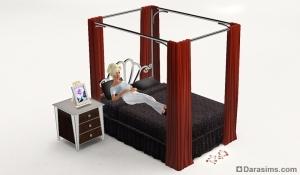 симс 3 изысканная спальня режим покупок
