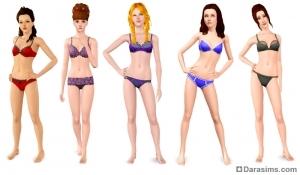 одежда для женщин в sims 3 master suite stuff