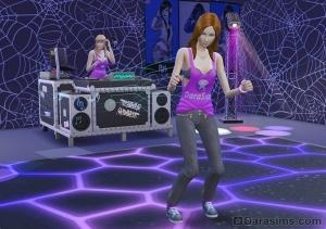 развитие навыка танцев