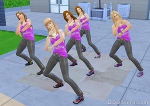 Групповые танцы в Симс 4 Веселимся вместе