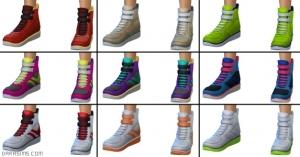 Обувь для танцев в The Sims 4 Get together