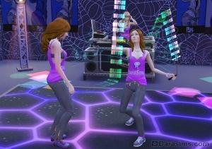 Танцевальная дуэль симов