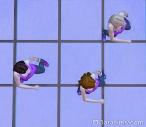 3 танцора на танцполе