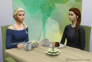 торт без сахара, питательный салат и очищающий чай с имбирем