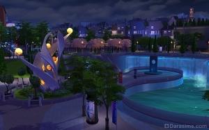 Набережная Винденбурга ночью