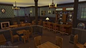 Бар Кричащие ламы в Sims 4 Get together