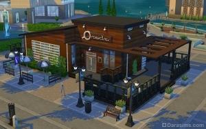 Кафе Хэр-н-Хэджхог в The Sims 4 Веселимся вместе