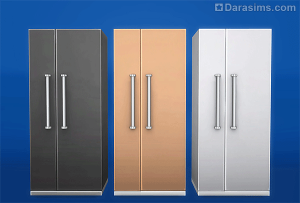 """Холодильник """"Стальной ледник"""" в Sims 4"""
