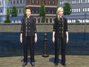 Униформа шеф-повара в Симс 4