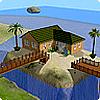 Строительство дома на островке в The Sims 2