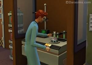 Химическая лаборатория и создание сыворотки