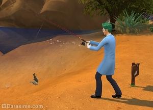 Рыболовство в Симс 4
