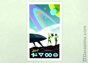 Плакат Путешествие к звездам