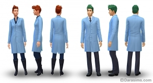 Униформа в карьере ученого