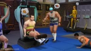 Занятия спортом в Симс 4