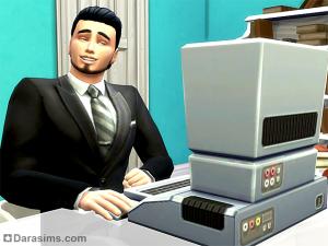 Писатель в The Sims 4