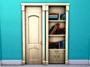 """дверь """"Врата восприятия"""" в sims 4"""