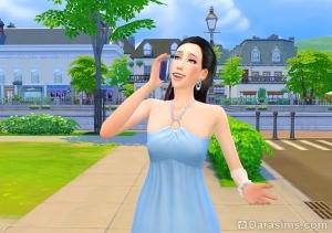 симка берет отгул на работе в The Sims 4