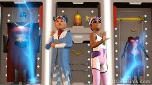 """фильм """"Супердетки"""" в The Sims 4 Домашний кинотеатр"""