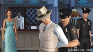 """кадр из фильма """"Буйные пороки"""" в sims 4"""