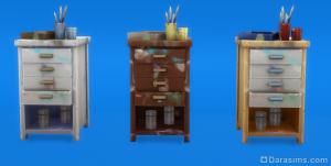 "скульптура ""Табуре художника"" в The Sims 4"