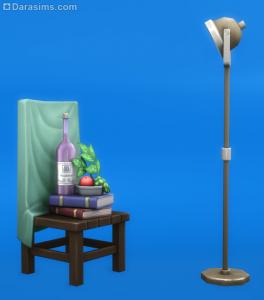 напольный светильник в Симс 4