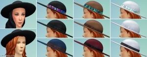 новый предмет в редакторе персонажей: шляпа