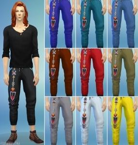 мешковатые штаны для симов