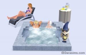 новые предметы в the sims 3 outdoor living stuff
