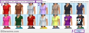 выбор объекта sims 4 studio