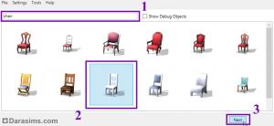 Выбор предмета из списка в S4S