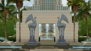 арка городской площади