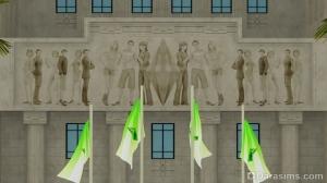 изображение sims 4 на здании Ратуши