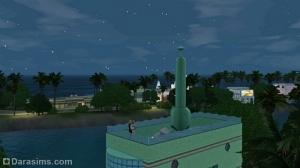 """крыша здания парка """"У океана"""""""